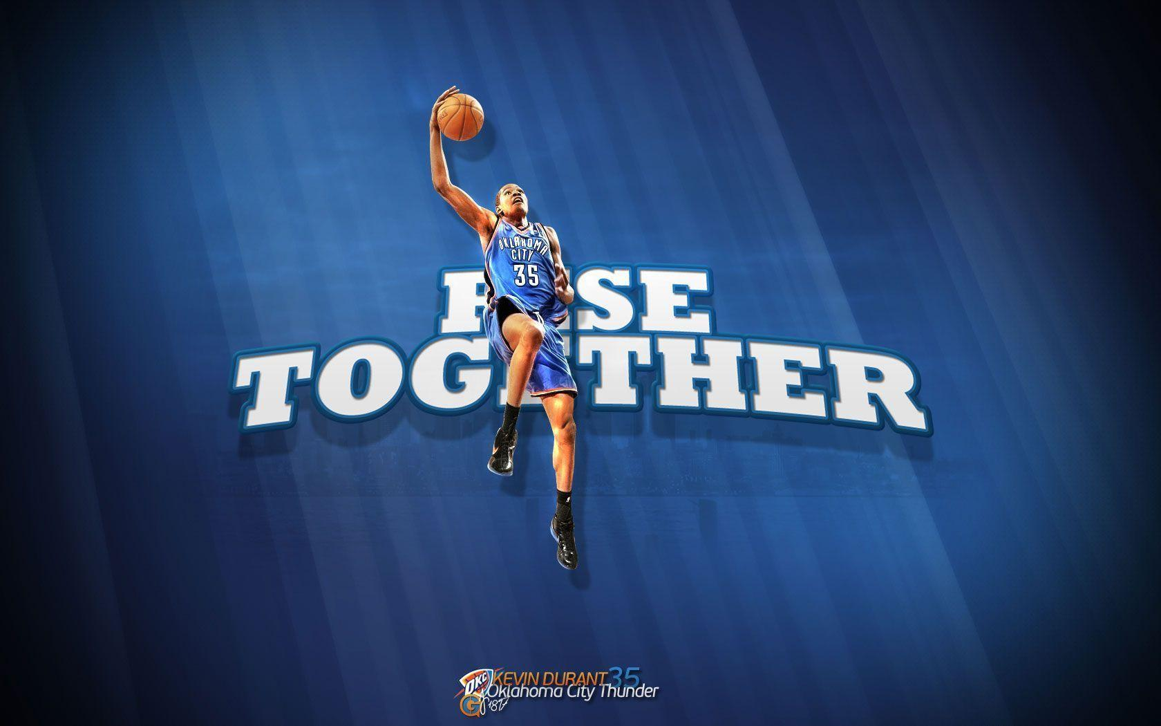 Kevin Durant Rise Together 1680×1050 Wallpapers