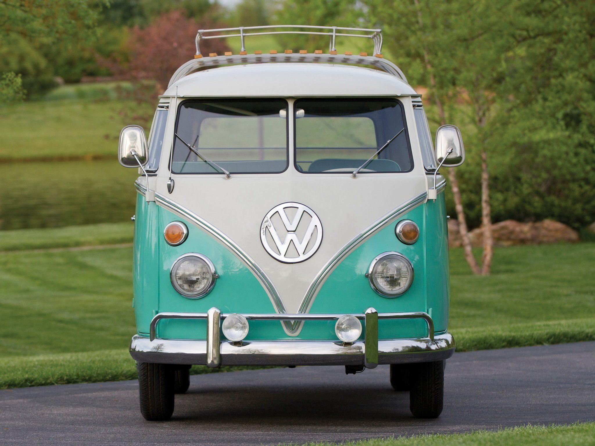 Volkswagen Bus Wallpapers Wallpaper Cave