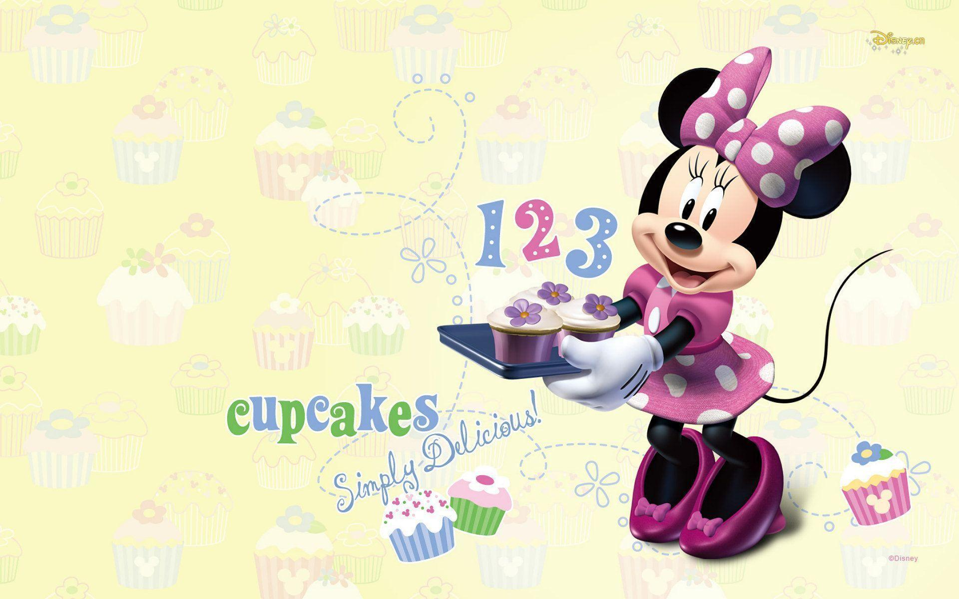 Wallpapers For > Pink Minnie Mouse Wallpapers