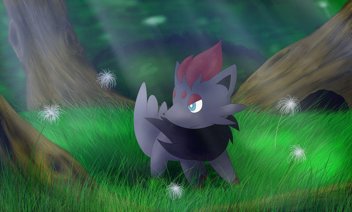 Travelling Zorua by TsukodE