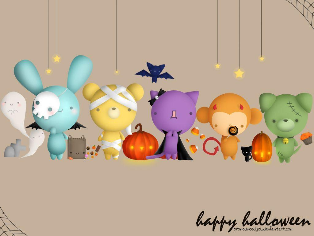 cute halloween wallpaper - photo #8