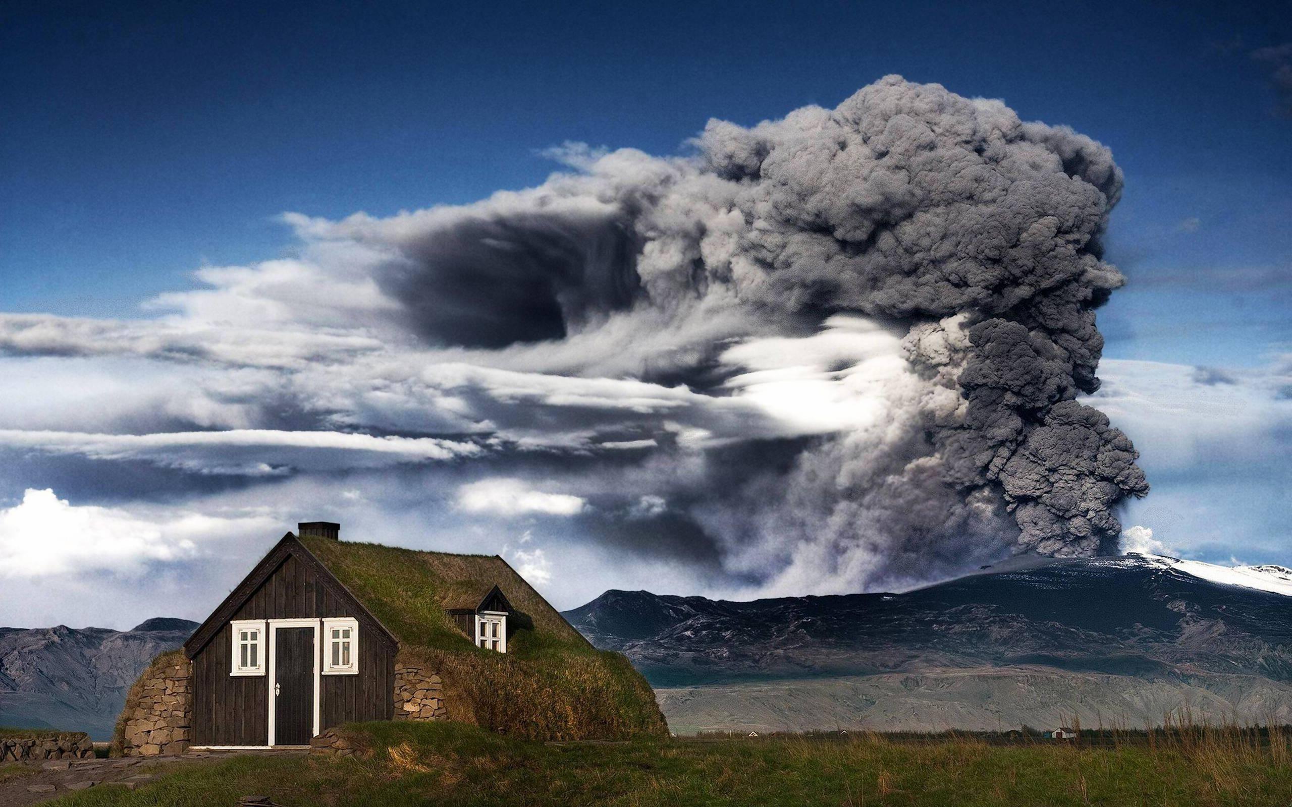 wallpaper hd volcano eruption - photo #34