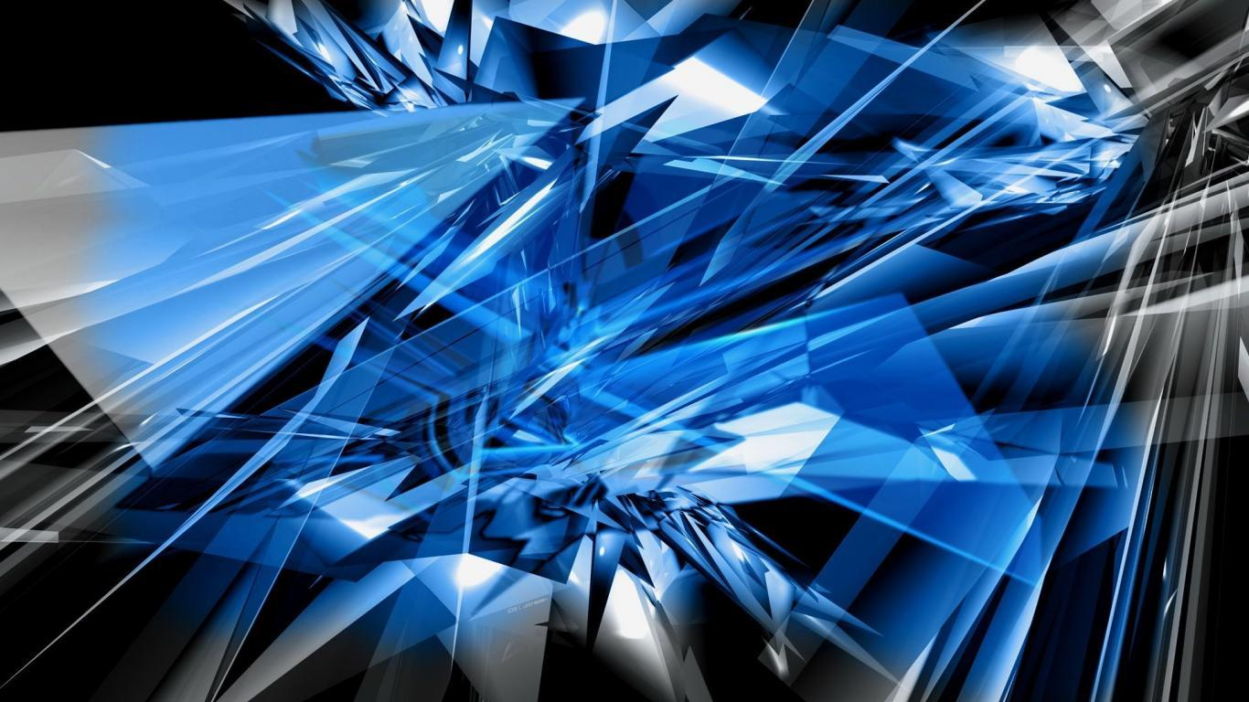 Black And Blue Abstract Backgrounds Widescreen 2 HD Wallpapers