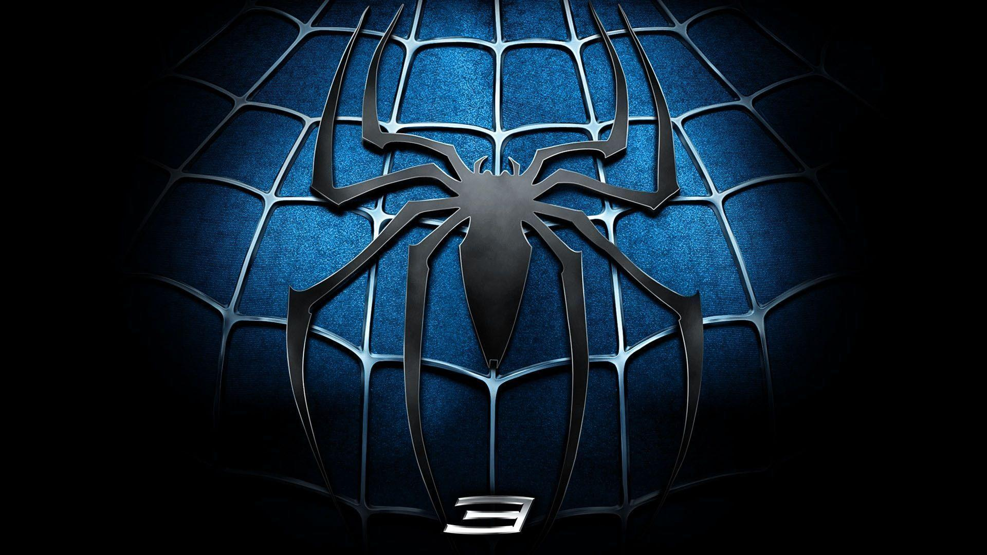Hd wallpaper spiderman - Black Spiderman Logo Wallpaper Cool Hd