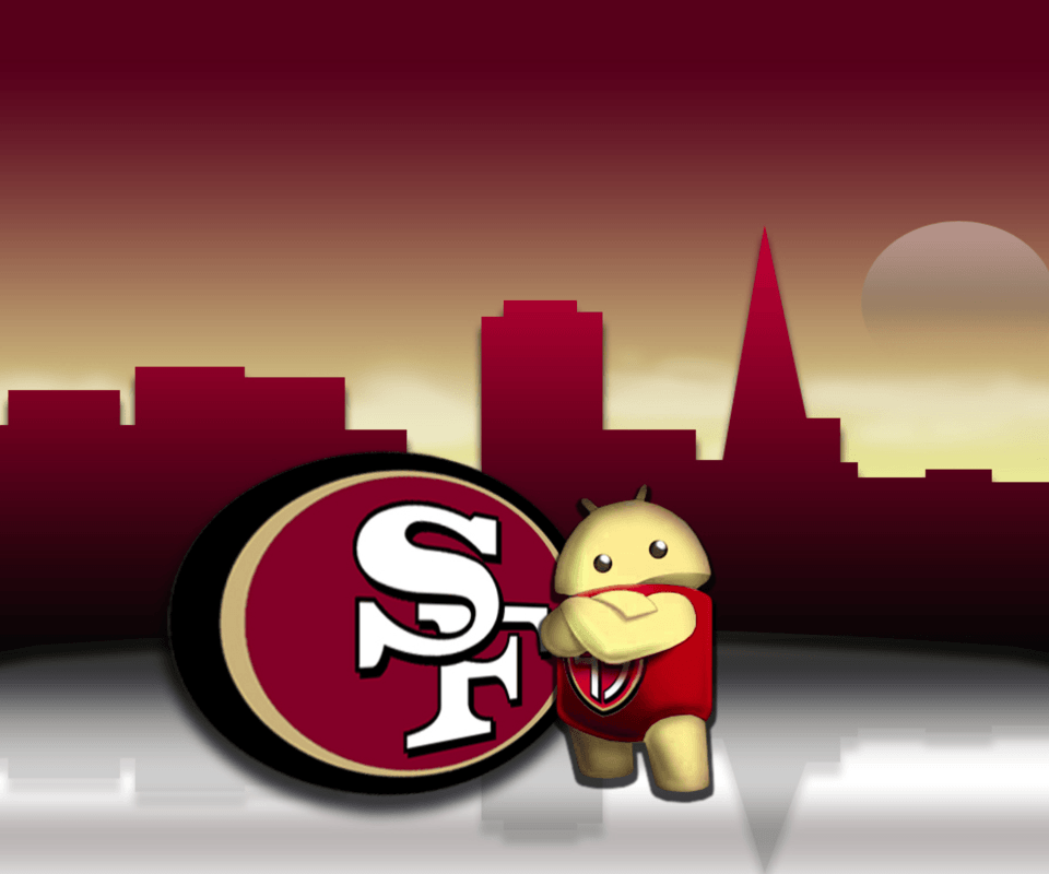 49ers phone wallpapers wallpaper cave san fransico 49ers android galaxy s2 wallpaper 960x800 voltagebd Gallery