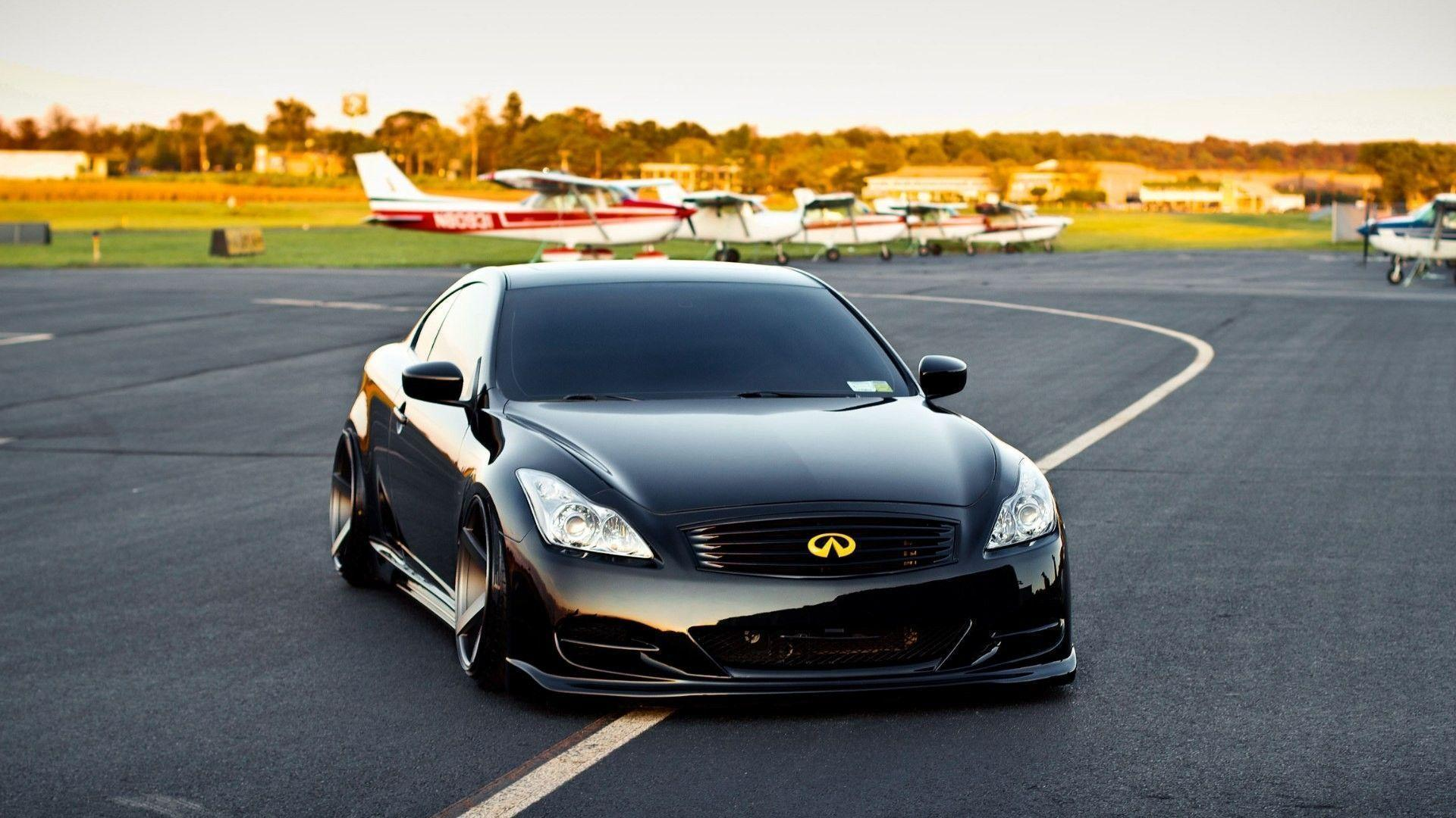 Black Infiniti G35 Coupe Wallpapers
