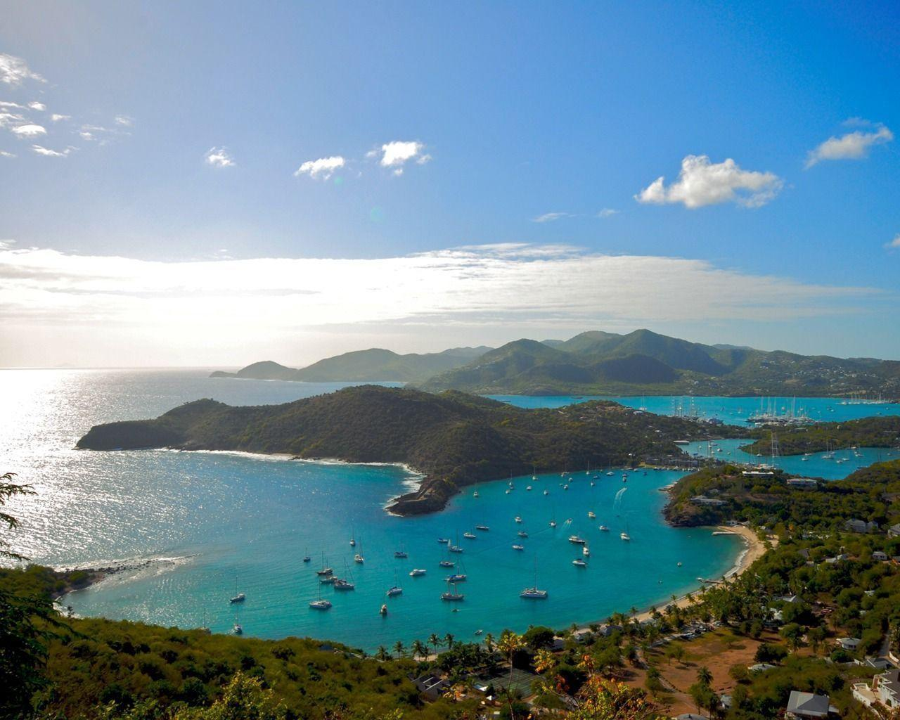 caribbean island postcard wallpaper - photo #8