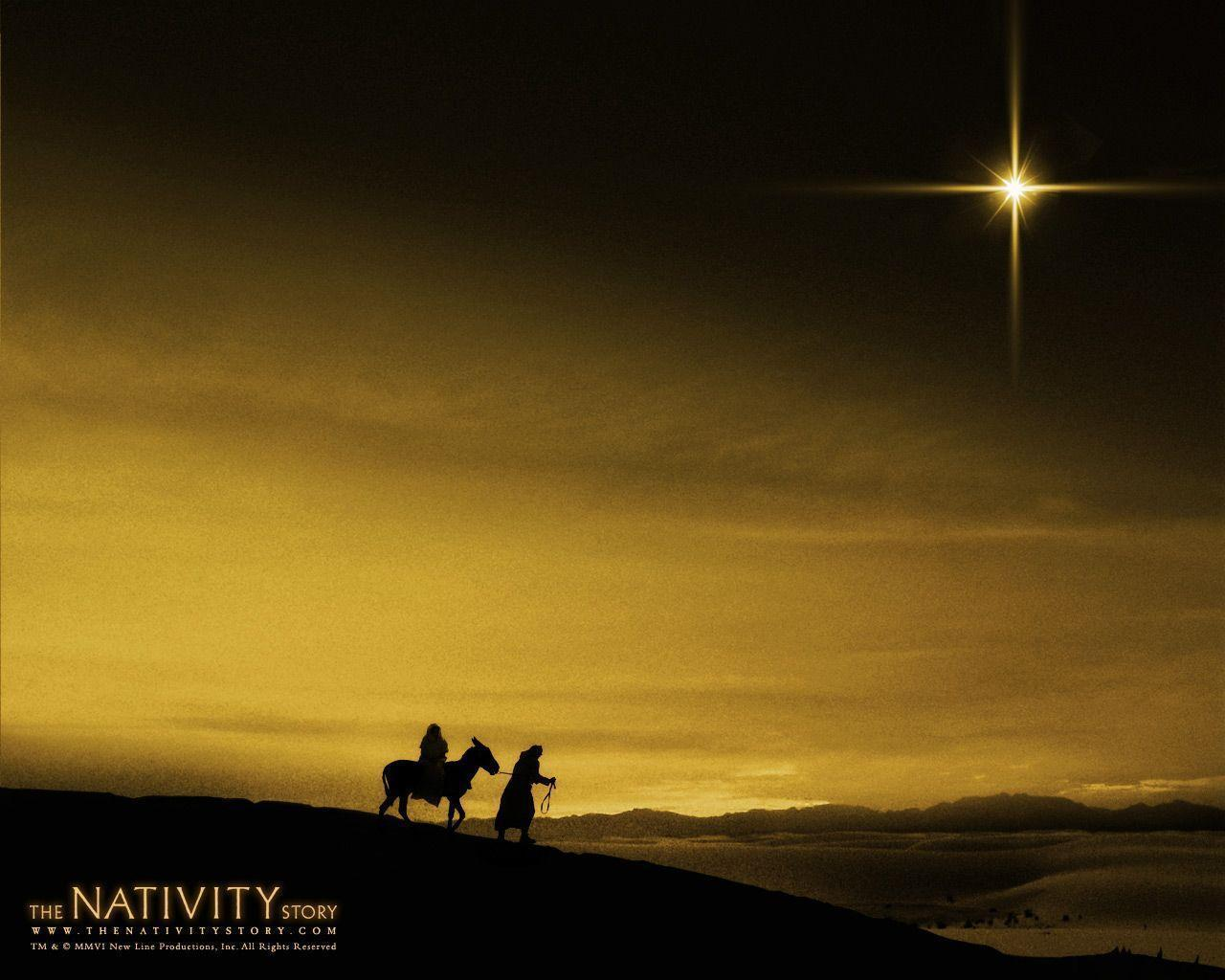 Image For > Free Christmas Nativity Wallpapers