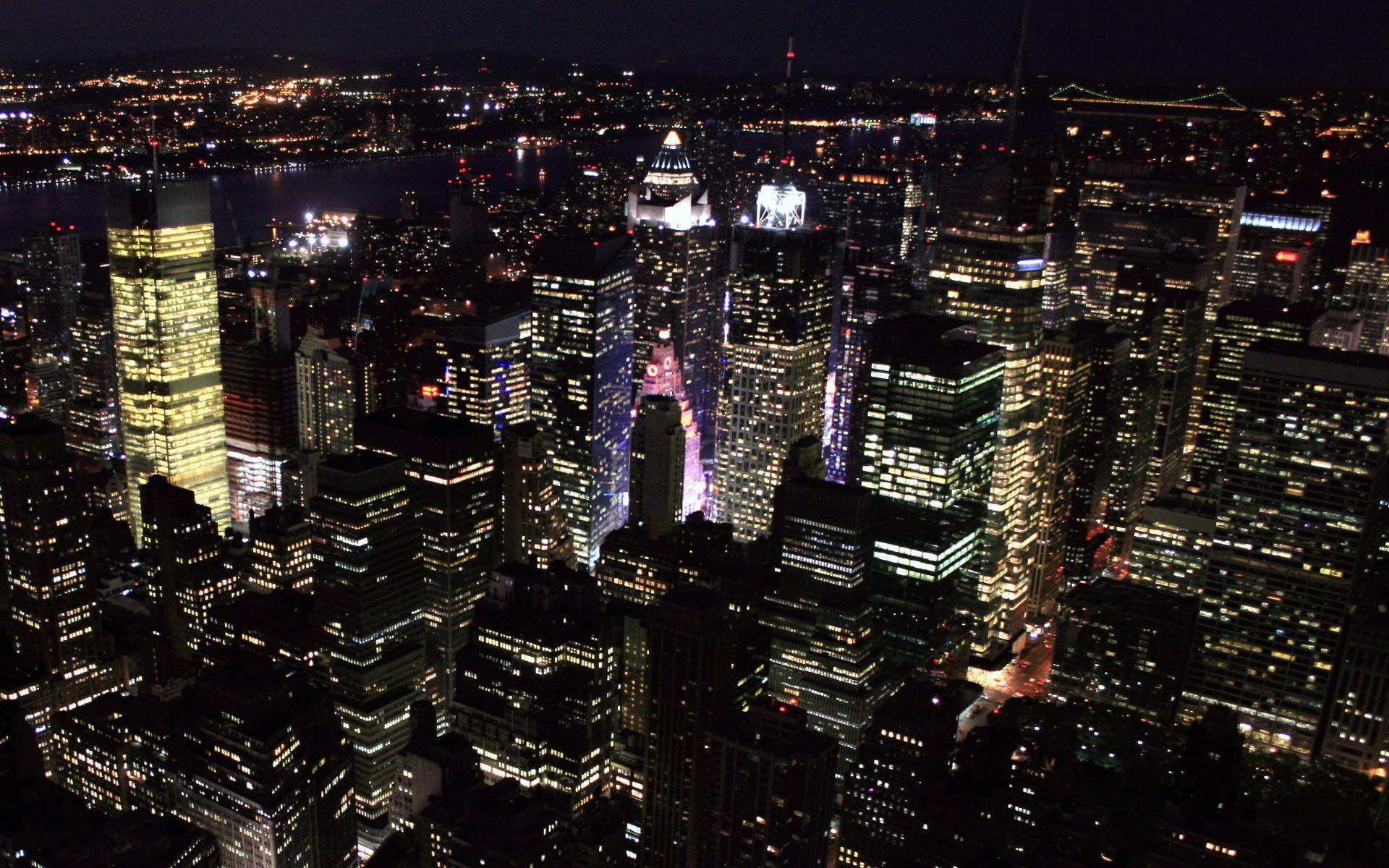 new york night wallpaper - photo #27
