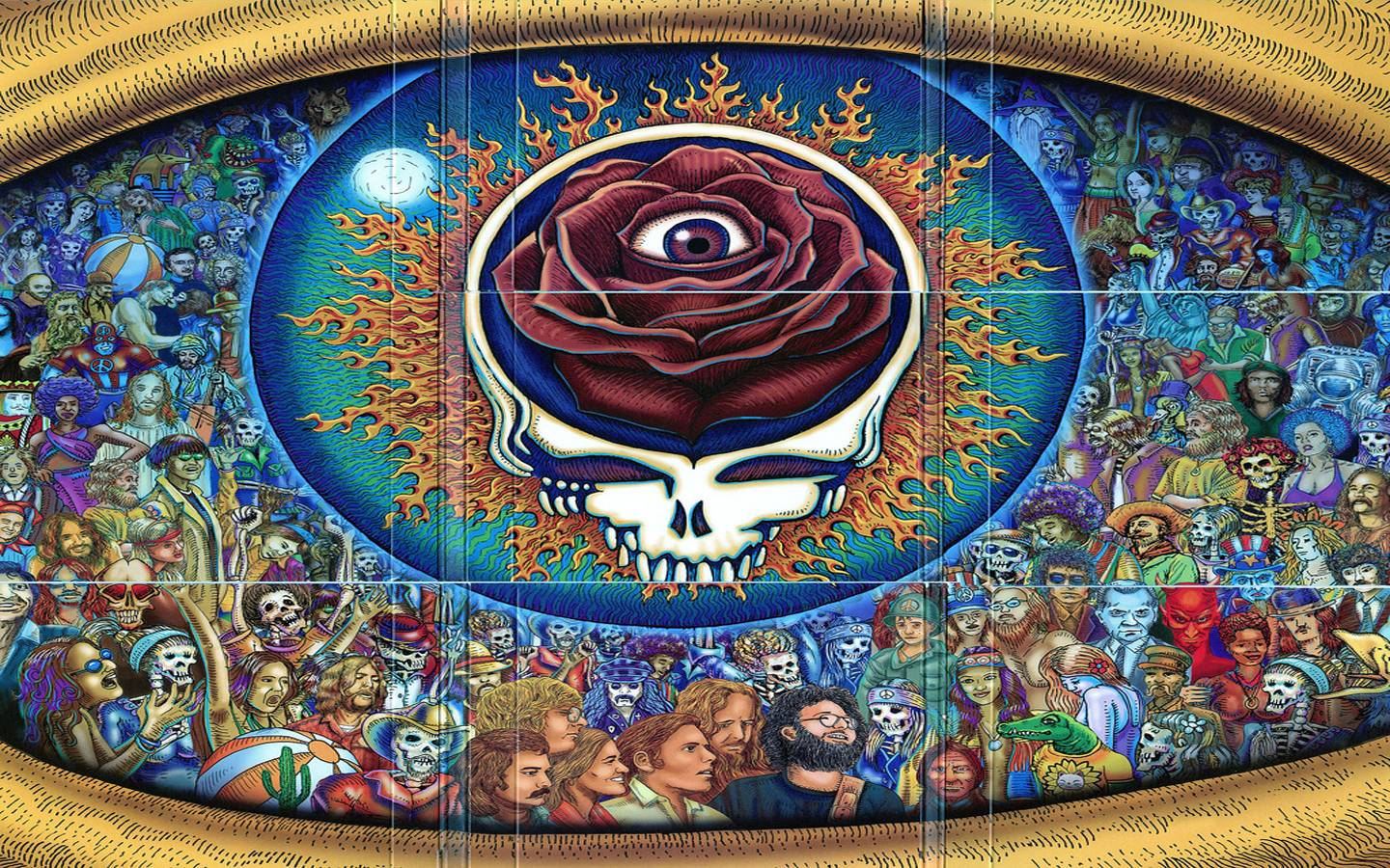 4 Grateful Dead Wallpapers