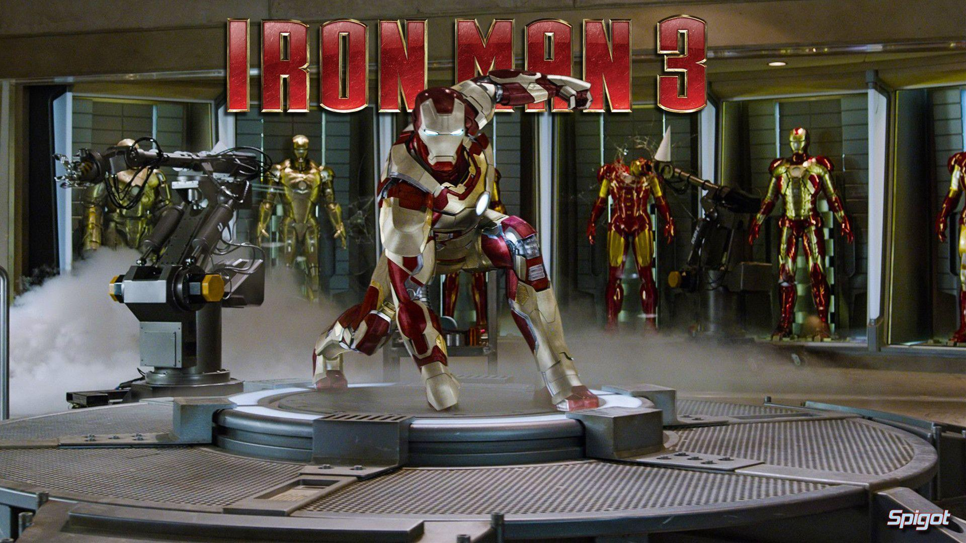 Iron Man 3 Suits Wallpapers
