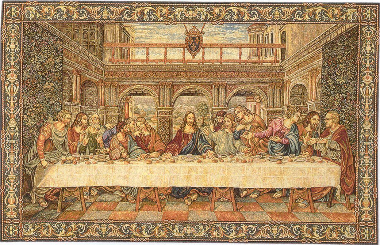 The Last Supper Wallpapers - Wallpaper Cave Da Vinci Last Supper Original