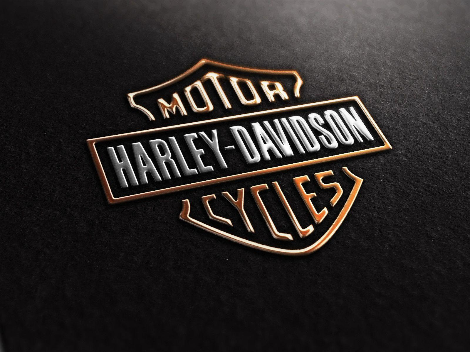 newest harley davidson logo wallpapers - photo #8