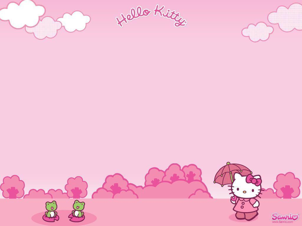 hello kitty backgrounds for desktop wallpaper cave