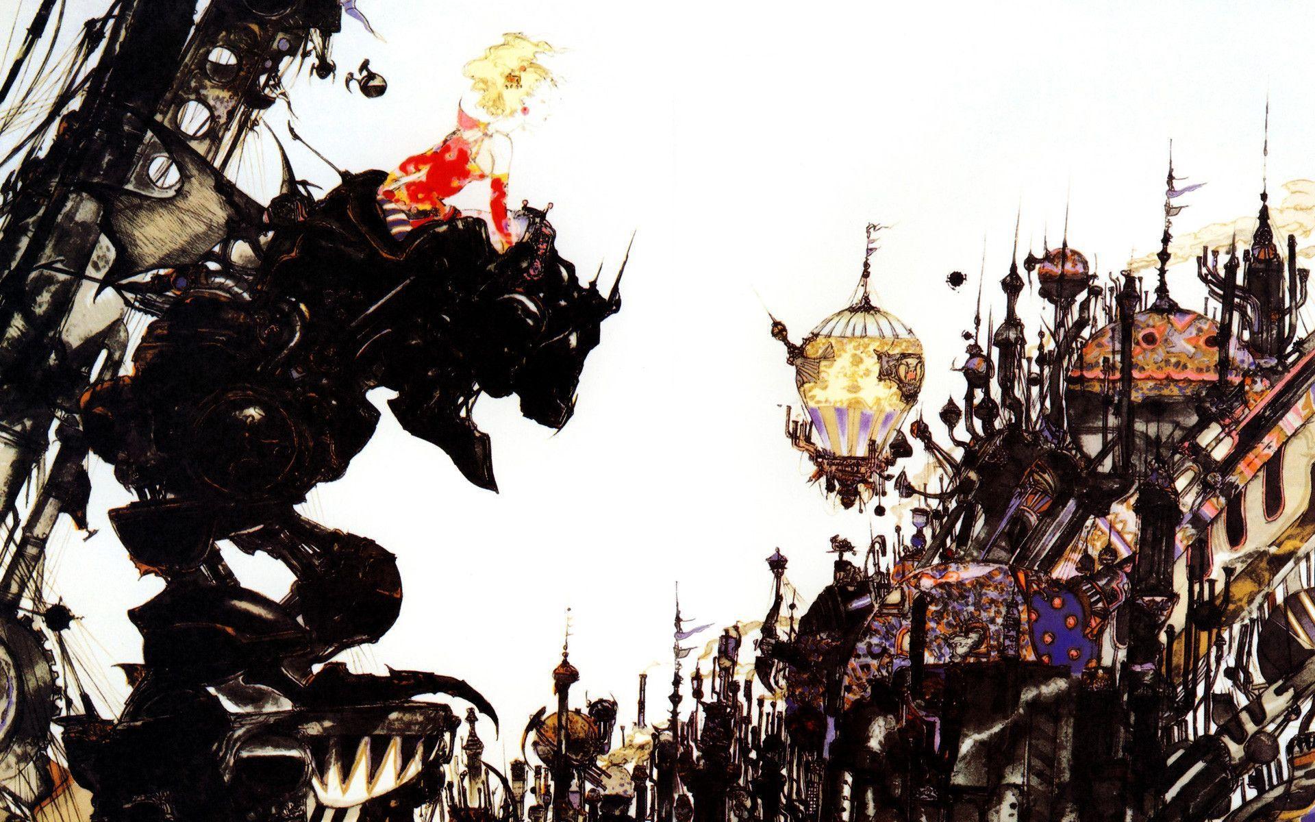 Final Fantasy Vi Wallpapers Wallpaper Cave