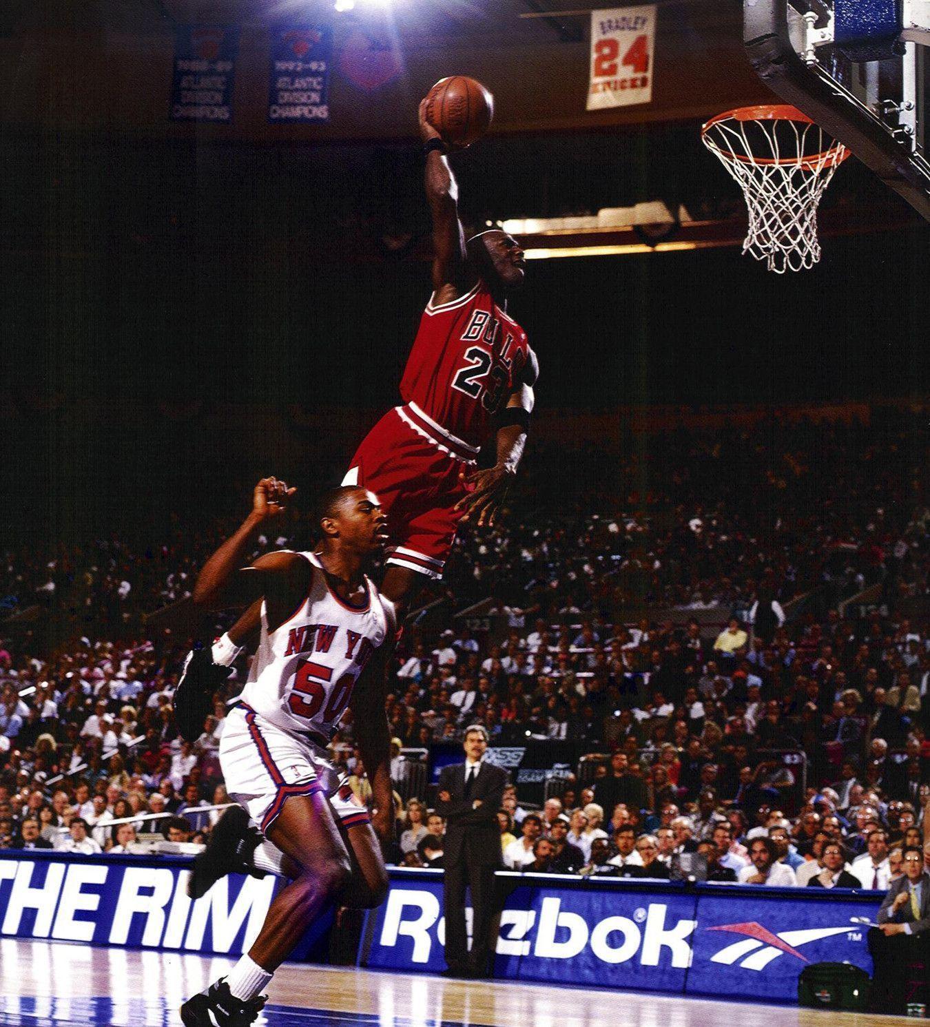 Michael Jordan Dunk Wallpapers - Wallpaper Cave