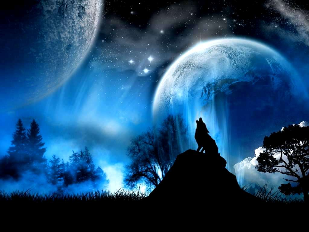Blue Moon Wallpapers - Wallpaper Cave