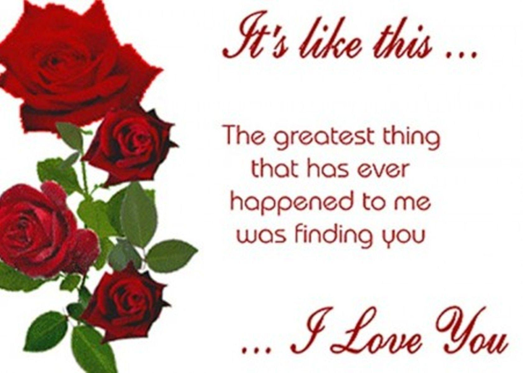 I Love You Quotes for Him Romantic Wallpaper I Love You Quotes for