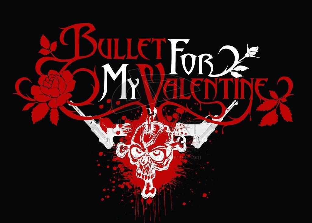 Außergewöhnlich Bullet For My Valentine Logo Wallpaper 2015   Grasscloth Wallpaper