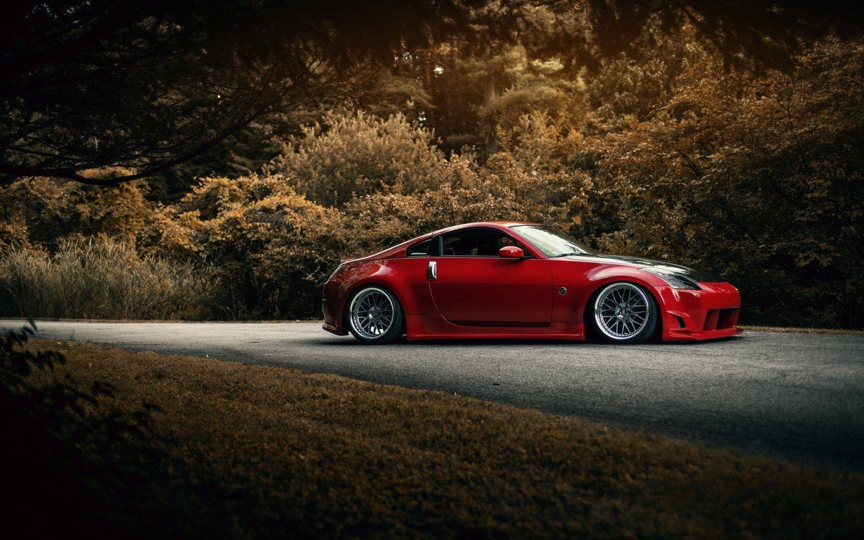 stanced nissan 350z wallpaper - photo #1