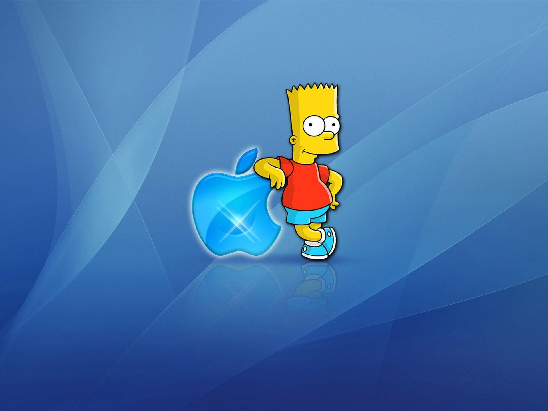 Homer apple wallpapers wallpaper cave for Immagini hd apple