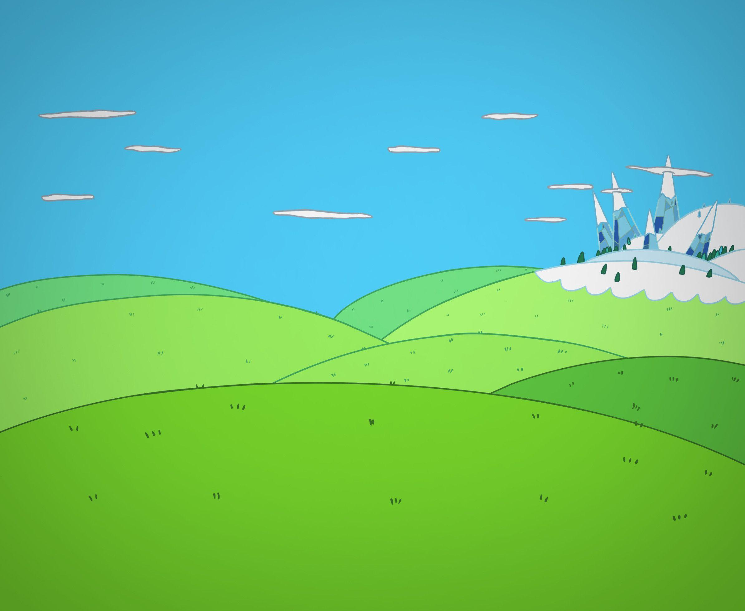 adventure time blue background - photo #11