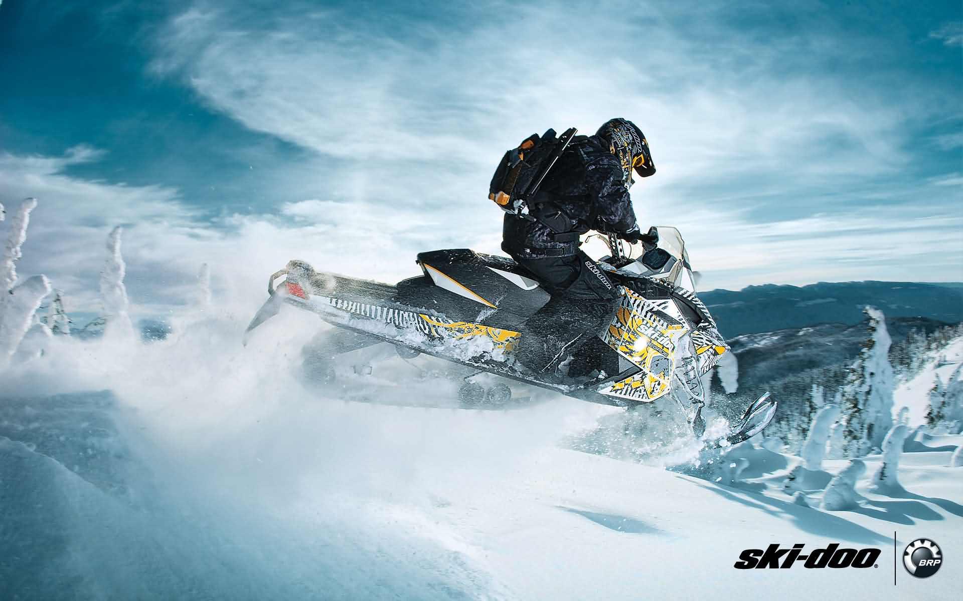 Wallpaper Wednesday: The Snowmobile | TransWorld SNOWboarding