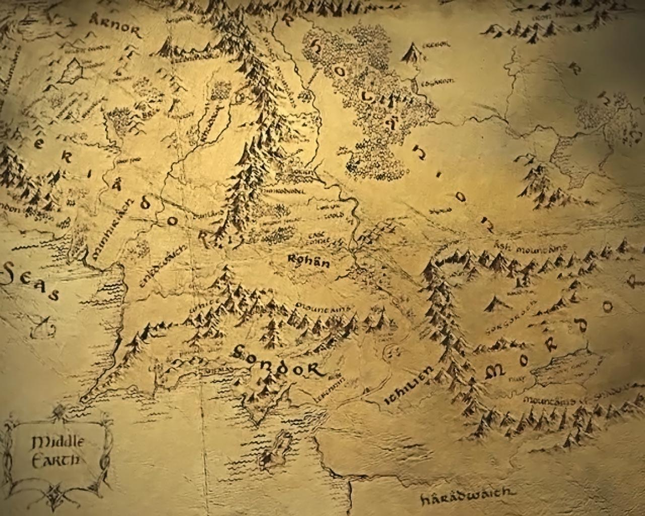 Waiting For a New Hobbit Movie? Explore Google Maps of Middle