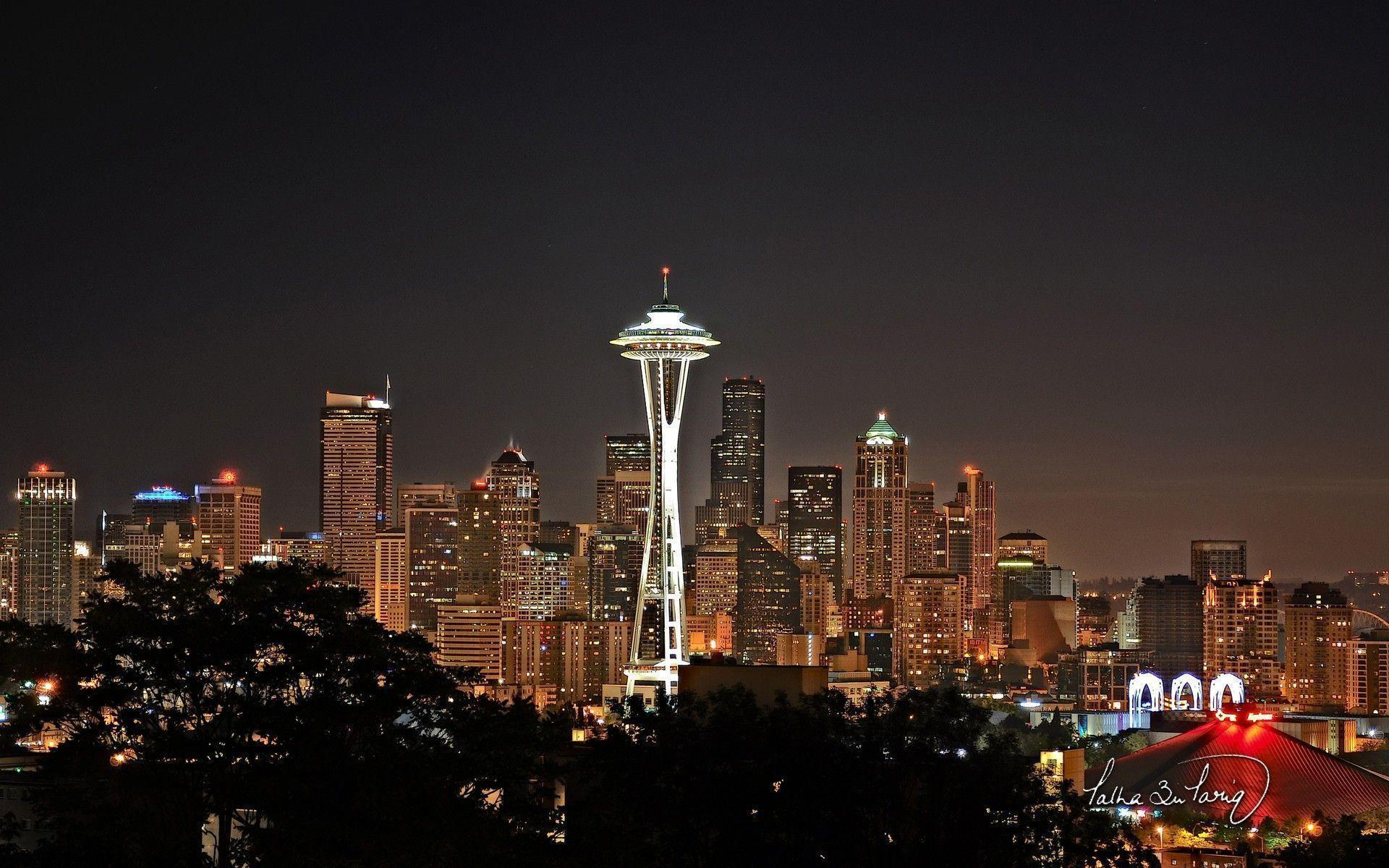 Hd Wallpapers Space Needle Seattle Washington 2550 X 1600 745 Kb ...
