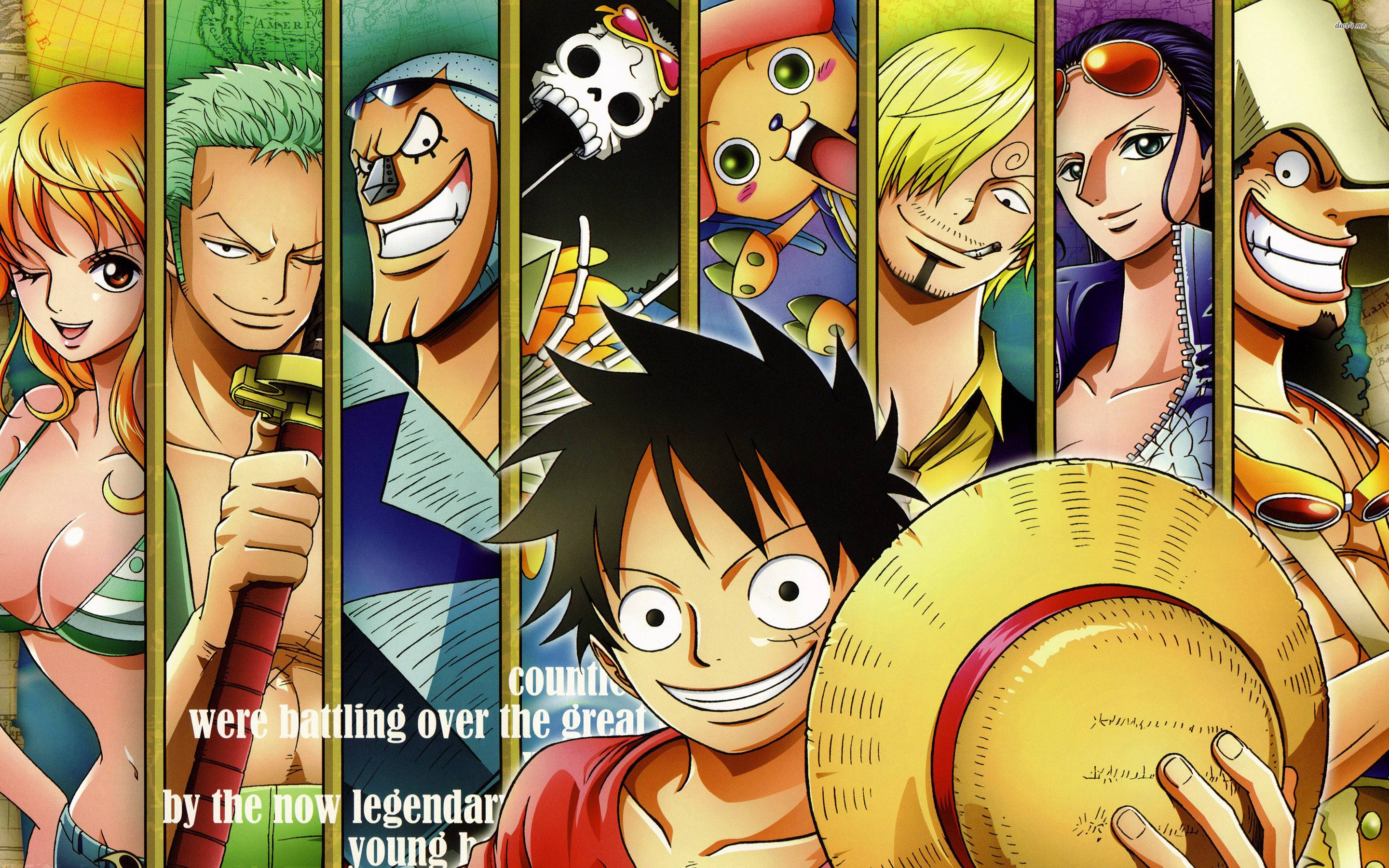 Straw Hat Pirates Wallpapers Top Free Straw Hat Pirates
