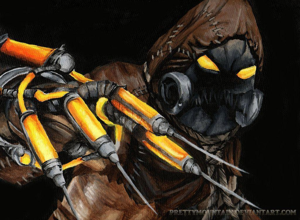 batman scarecrow wallpapers wallpaper cave