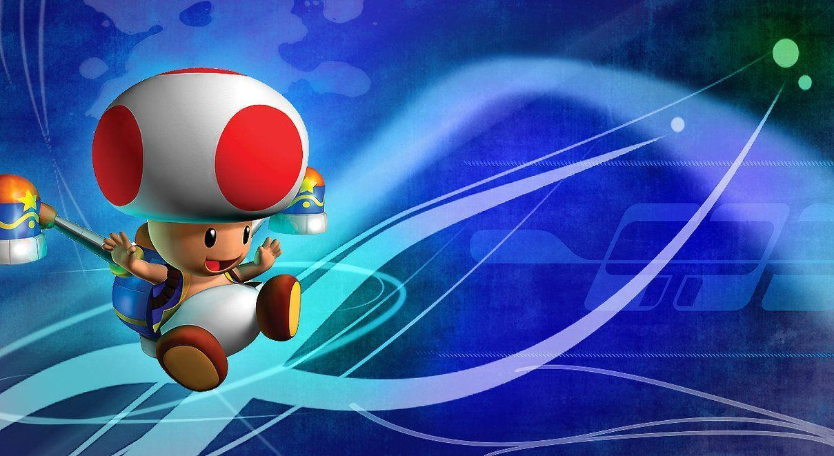 TOAD WALLPAPER by linkintek06