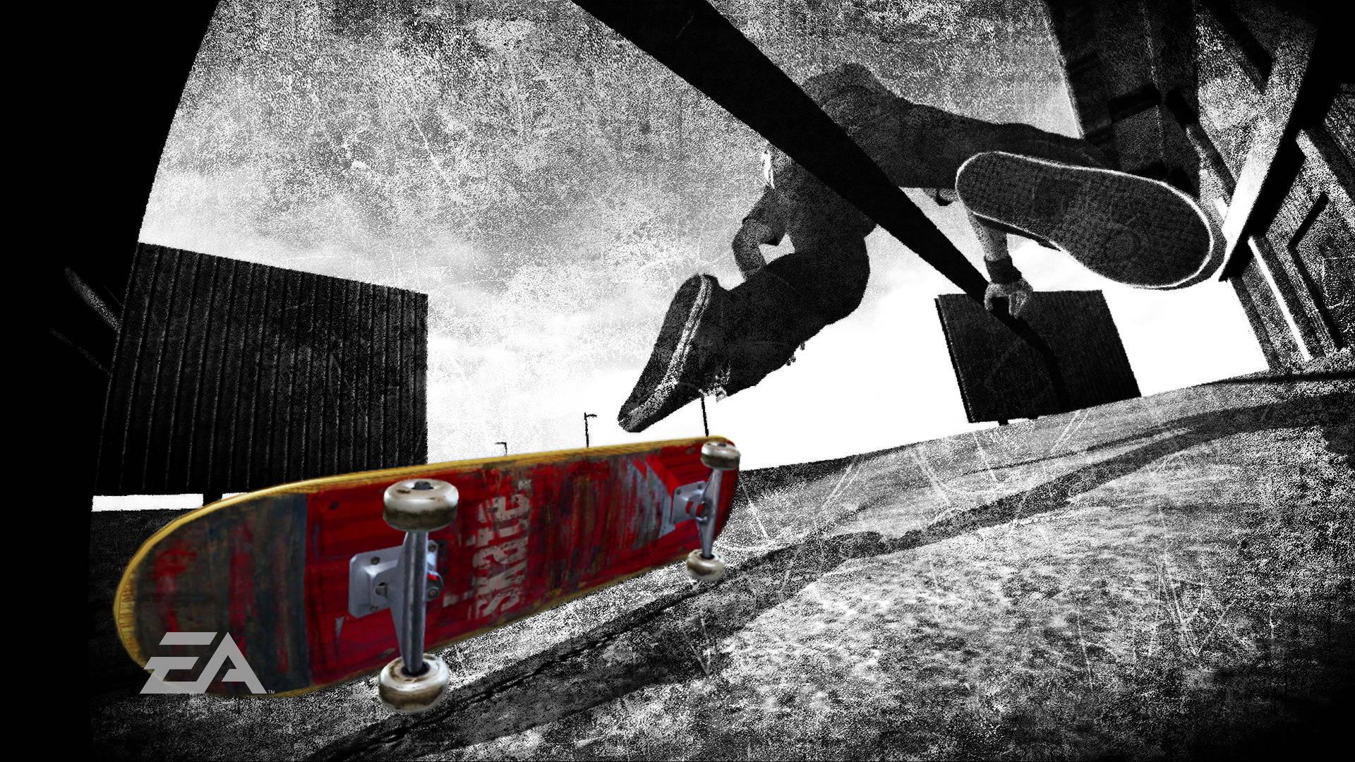 Skateboarding Cool Kid