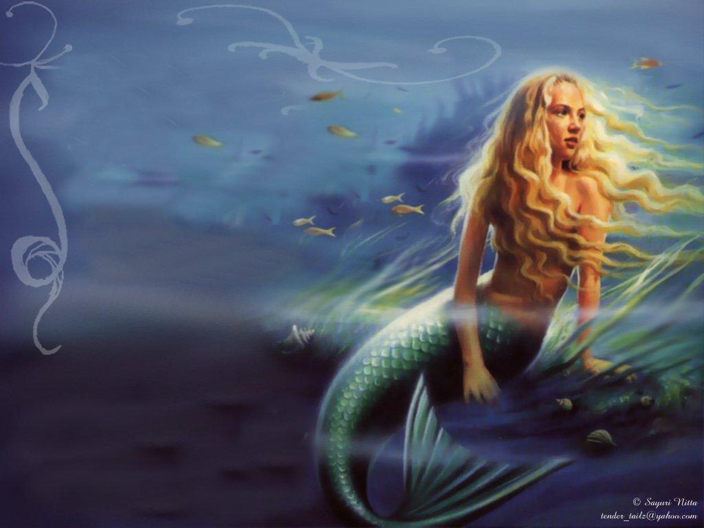 underwater mermaid wallpaper - photo #18