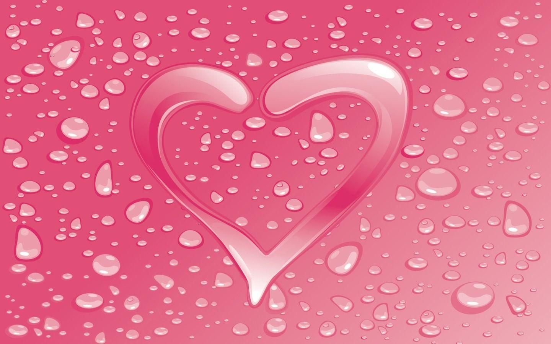 Pink Heart Wallpapers Wallpaper Cave