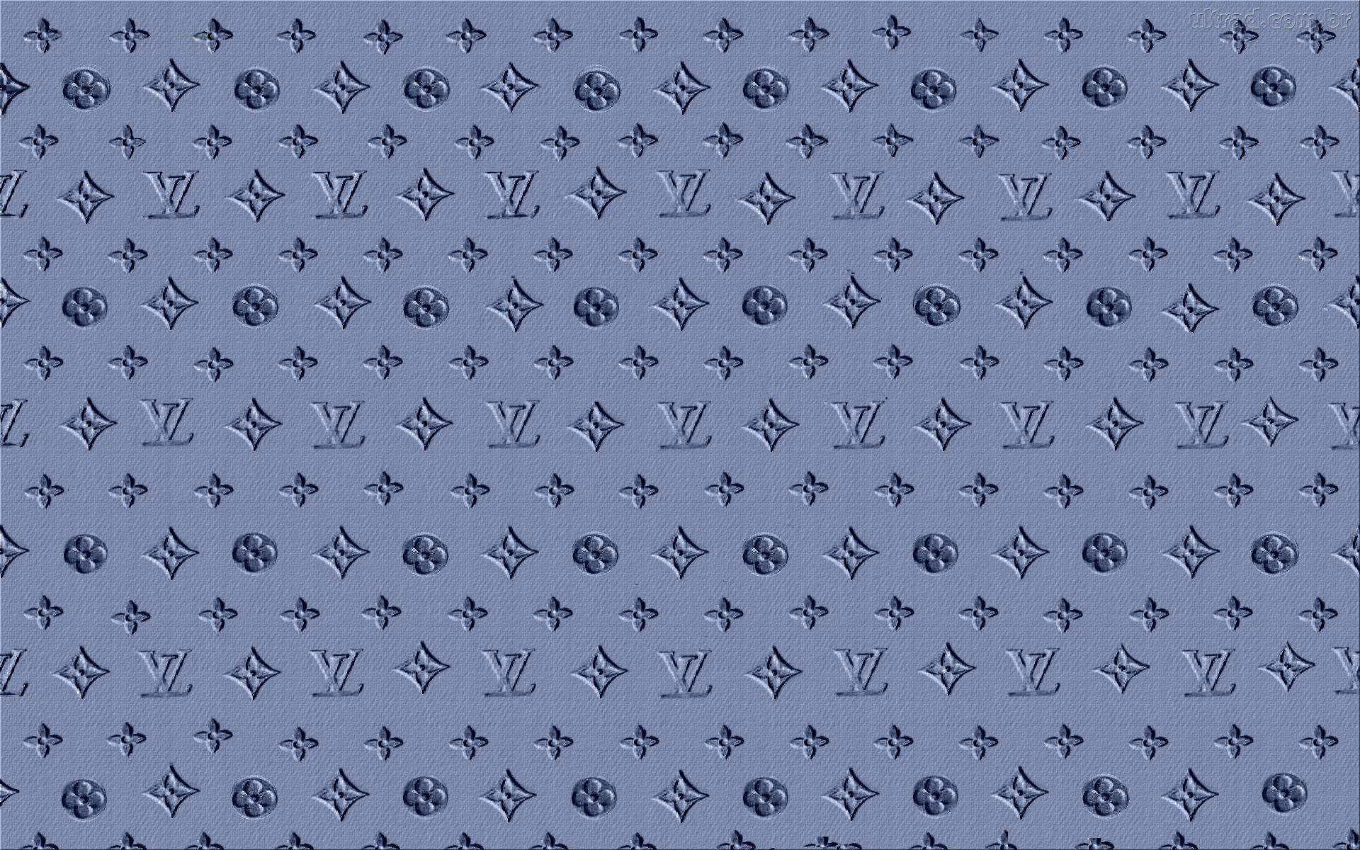 Wallpapers For > Louis Vuitton Wallpaper Blue