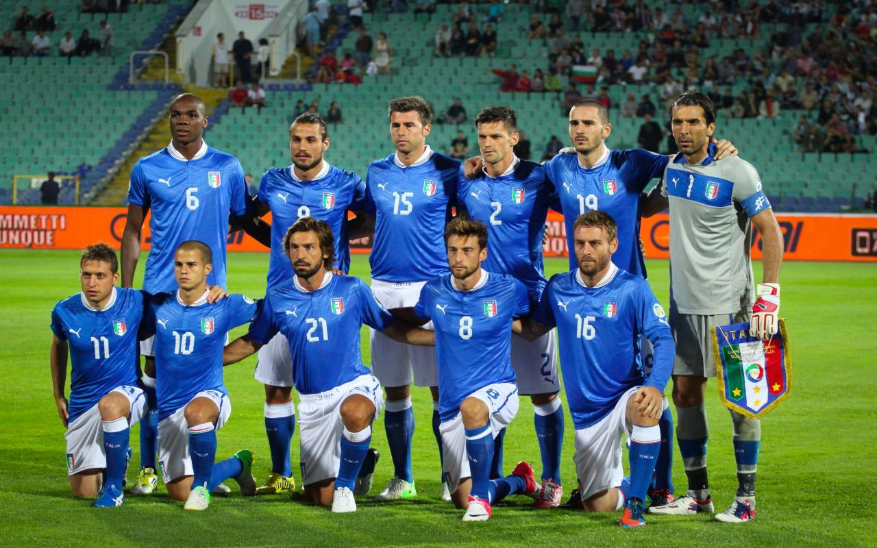 Italy National Football Team In Fifa World Cup 2014 Wallpaper ...