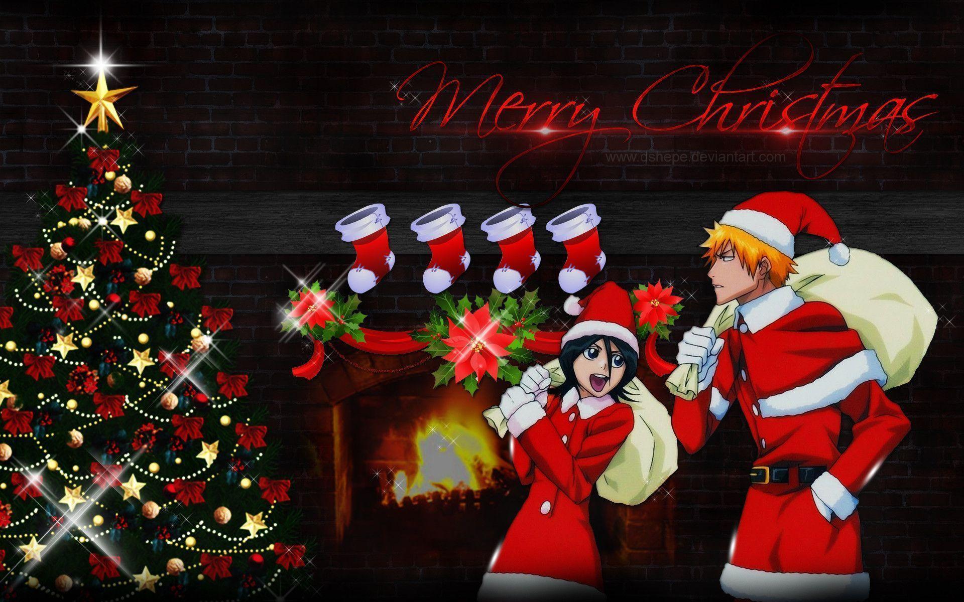 Naruto christmas wallpapers wallpaper cave - Anime merry christmas wallpaper ...