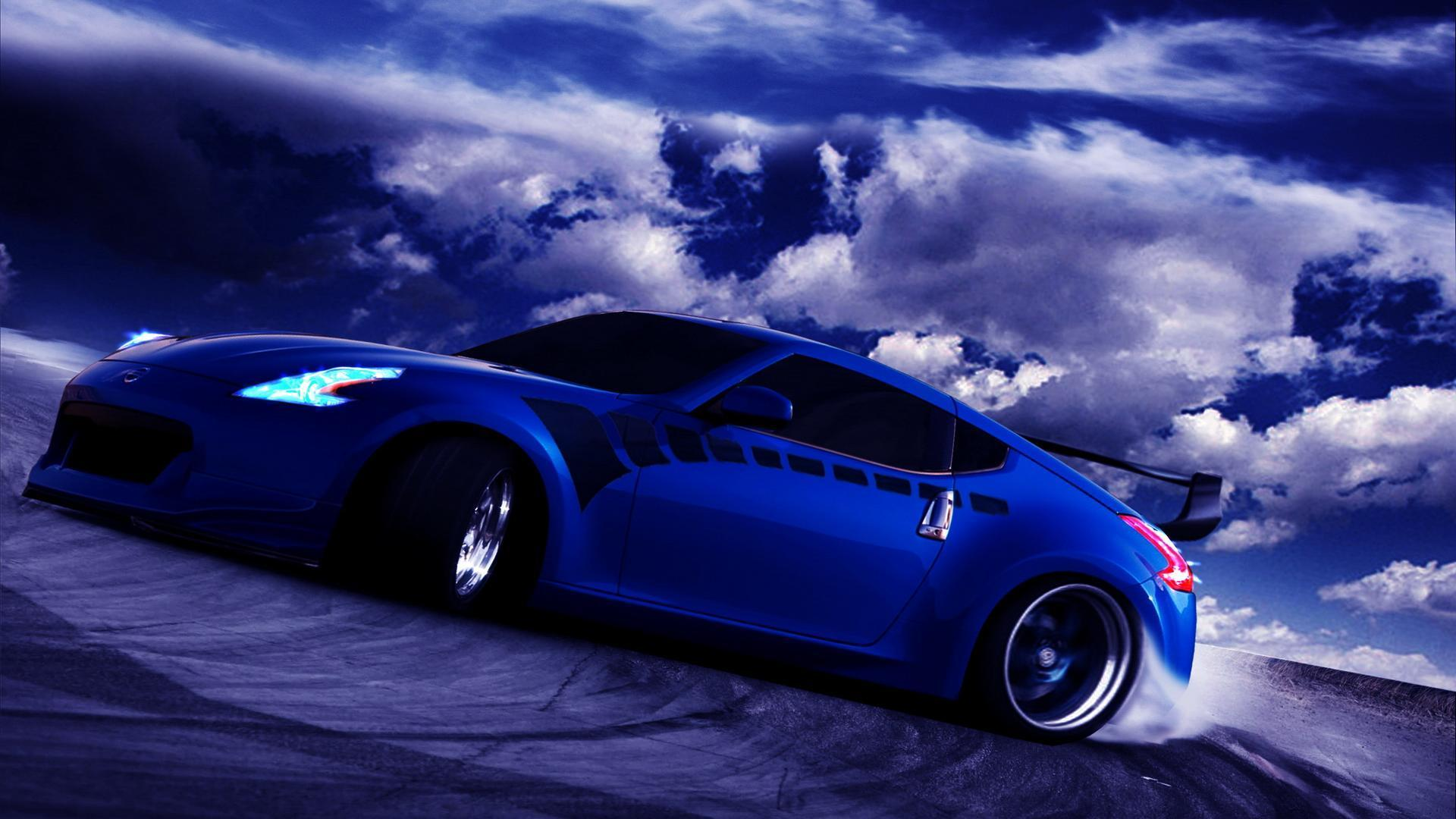 blue car wallpapers wallpaper cave