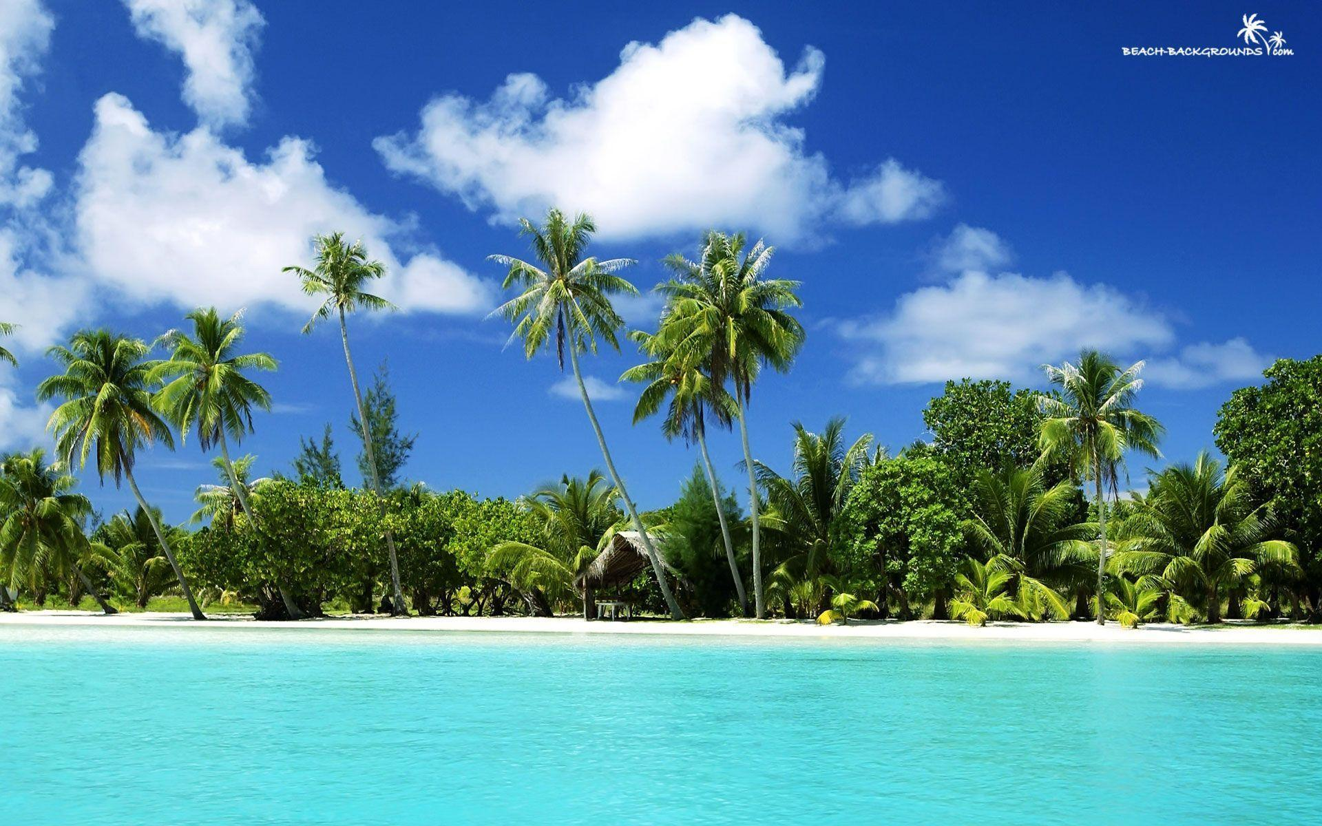 Tropical Beach Backgrounds Hd Desktop 10 HD Wallpapers