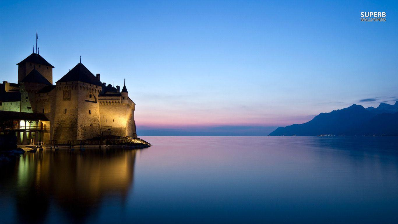 Chillon Castle, Switzerland wallpaper - World wallpapers - #