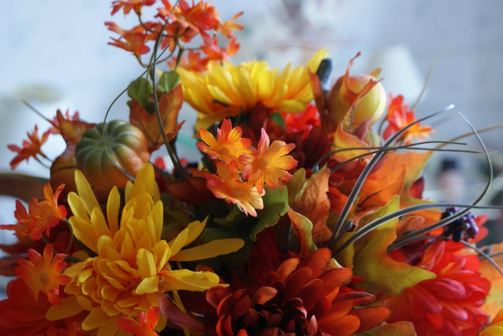 fall flowers wallpaper by - photo #12