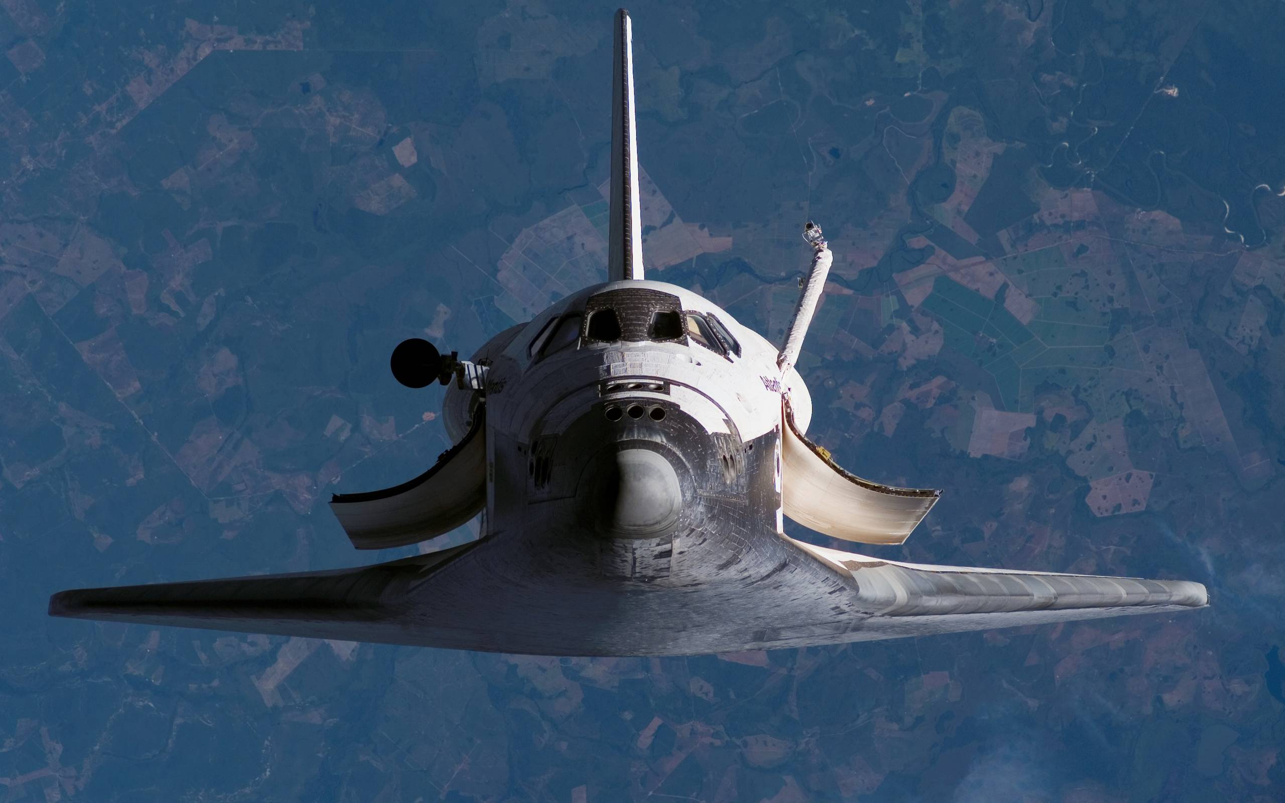 space shuttle space background - photo #14