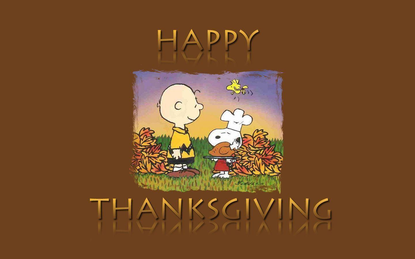 Happy Thanksgiving Snoopy