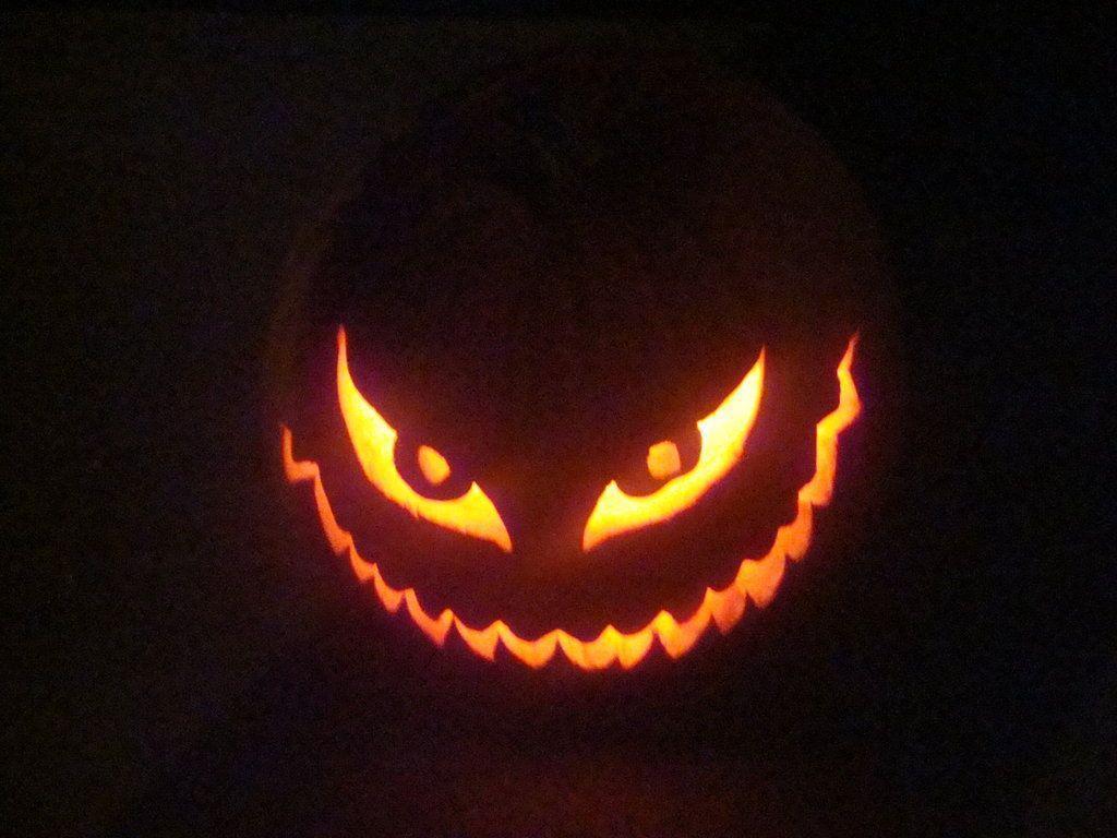 Scary face jack o lantern patterns