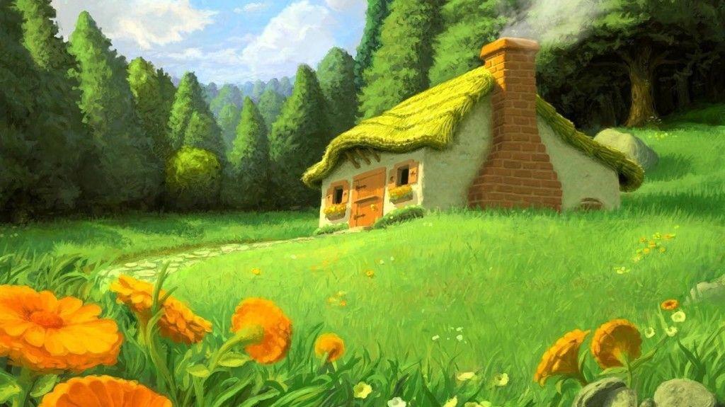 Green Nature 3D Wallpaper HD 5614 Full HD Wallpaper Desktop - Res ...