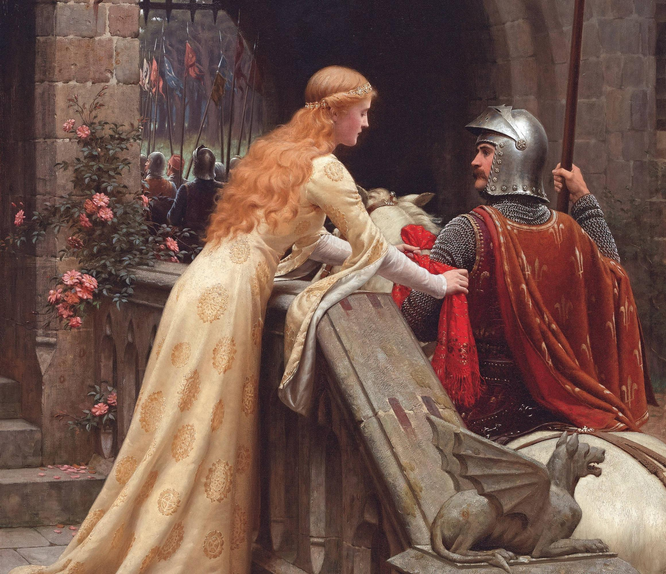 Download wallpaper virgin, romanticism, picture, Pre-Raphaelite ...