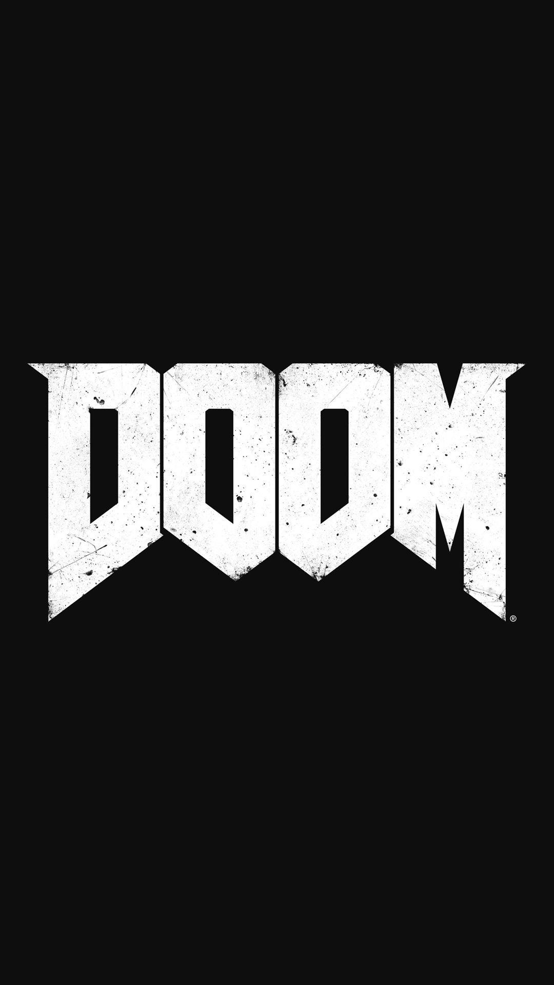 DOOM Game Logo iPhone 6+ HD Wallpapers / iPod Wallpapers HD