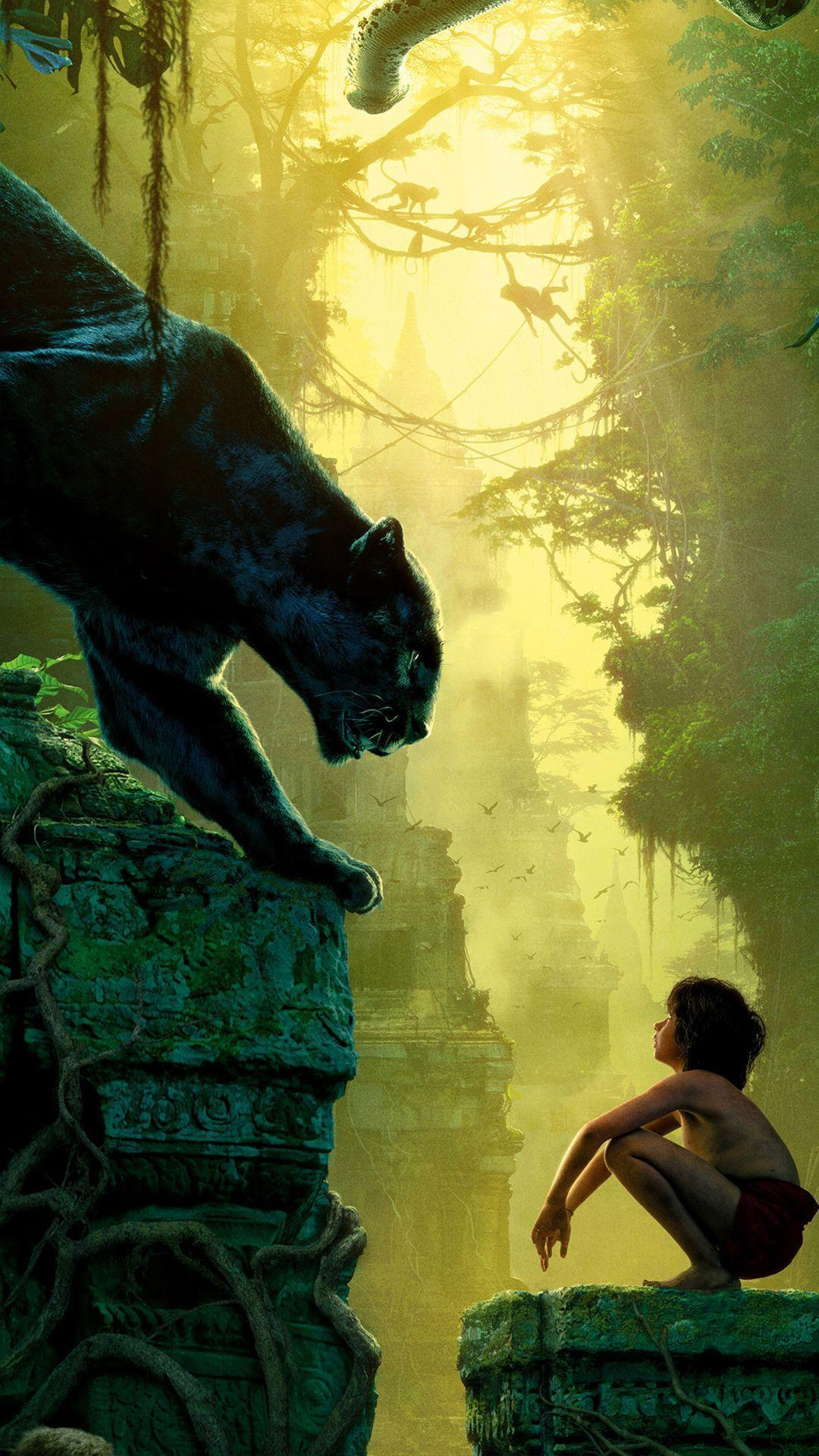 The Jungle Book 2016 Movie Wallpapers for iPhone