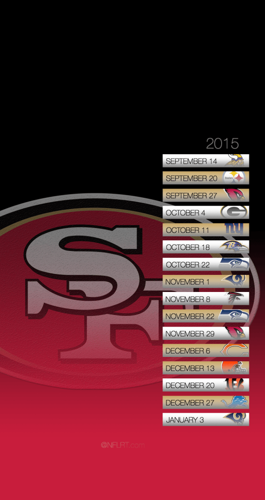 49ers 2016 wallpapers wallpaper cave 49ers schedule mobile wallpaper niners nation voltagebd Gallery